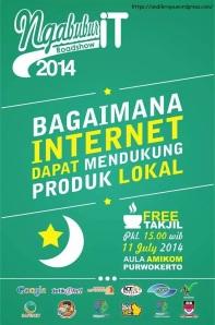 001-NgabuburIT Banyumas STMIK AMIKOM Purwokerto Juli 2014 ICT Watch Roadshow
