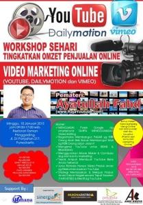 Youtube  Seminar Bisnis ONLINE di Purwokerto, Membangun Toko ONLINE di Purwokerto, Belajar SEO Youtube Marketing di Purwokerto3