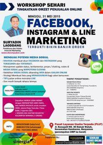Workshop Bisnis Online di Purwokerto, Memanfaatkan Media Sosial (Facebook, Line dan Instagram) Banjir Order dari Media Sosial